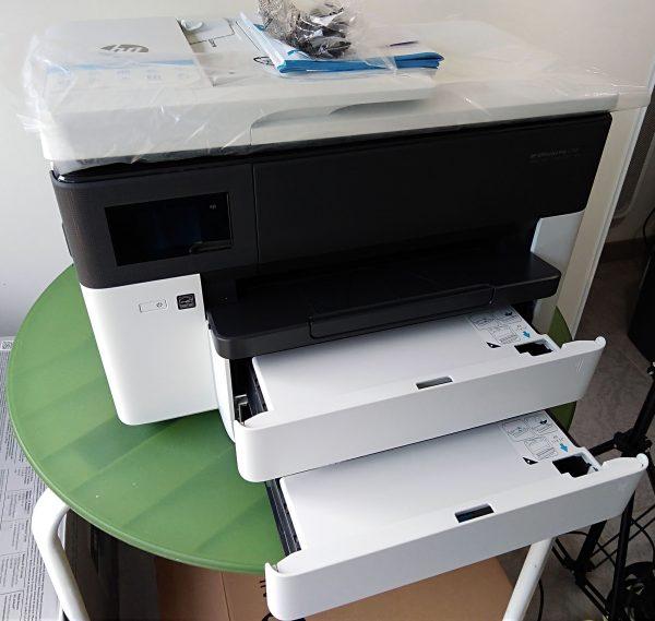 HP OfficeJet Pro 7730 double bac